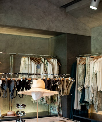 Womens clothing and accessories inside qualia shopping boutique